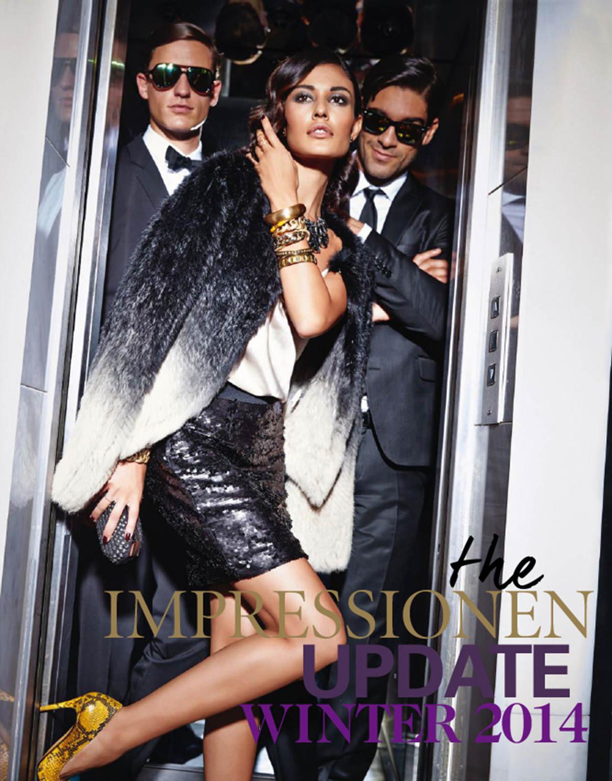 Das Neue Impressionen Cover Vom Update Katalog Winter 2014 Ina