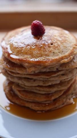 Mein Rezept für gesunde und leckere Pancakes