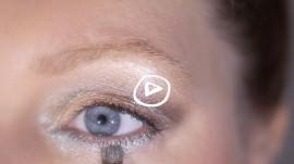 Ein schönes Silvester Augen Make up