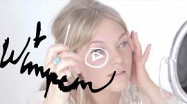 Wie man künstliche Wimpern perfekt anklebt