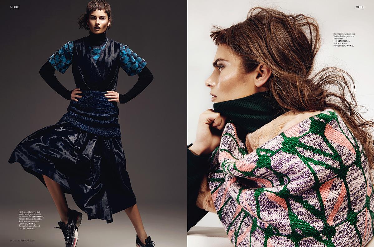 L' Officiel Schweiz // Fotos Lina Tesch // Styling Jennifer Hahn // Haare&Make-up Ina Cierniak // Model Rayne Ivanushka