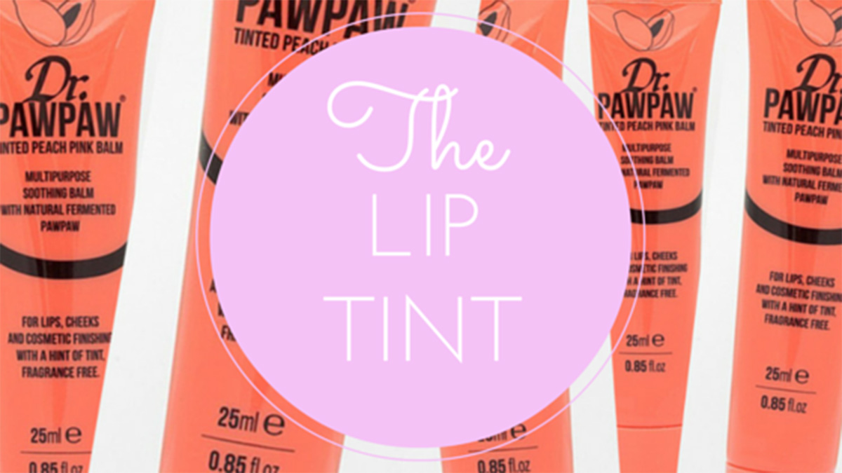 Dr. Paw Paw Tinted Peach Pink Balm