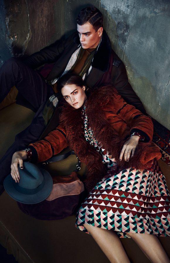 Galeries Lafayette Magazine // Foto Lina Tesch