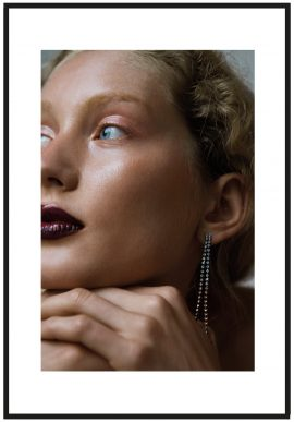 Beautystrecke mit Model Sandra Martens